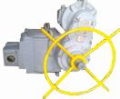 Электропривод с червячным редуктором исполнение К5-44.30